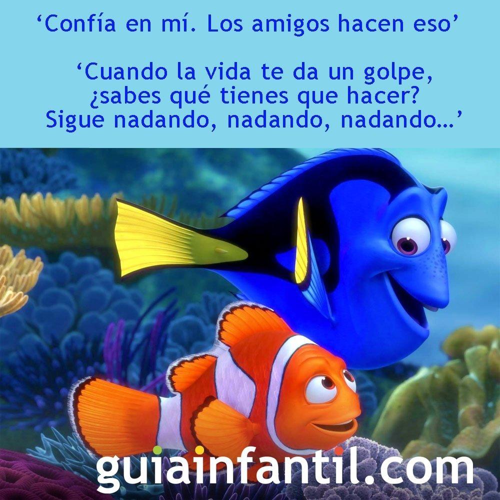 Frases De La Película Buscando A Nemo