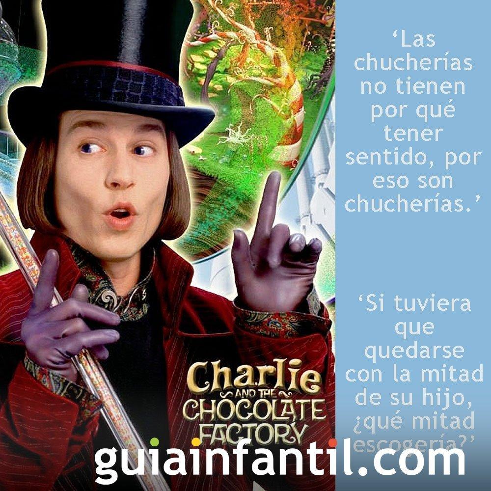 Frases de la película Charlie y la fábrica de chocolate