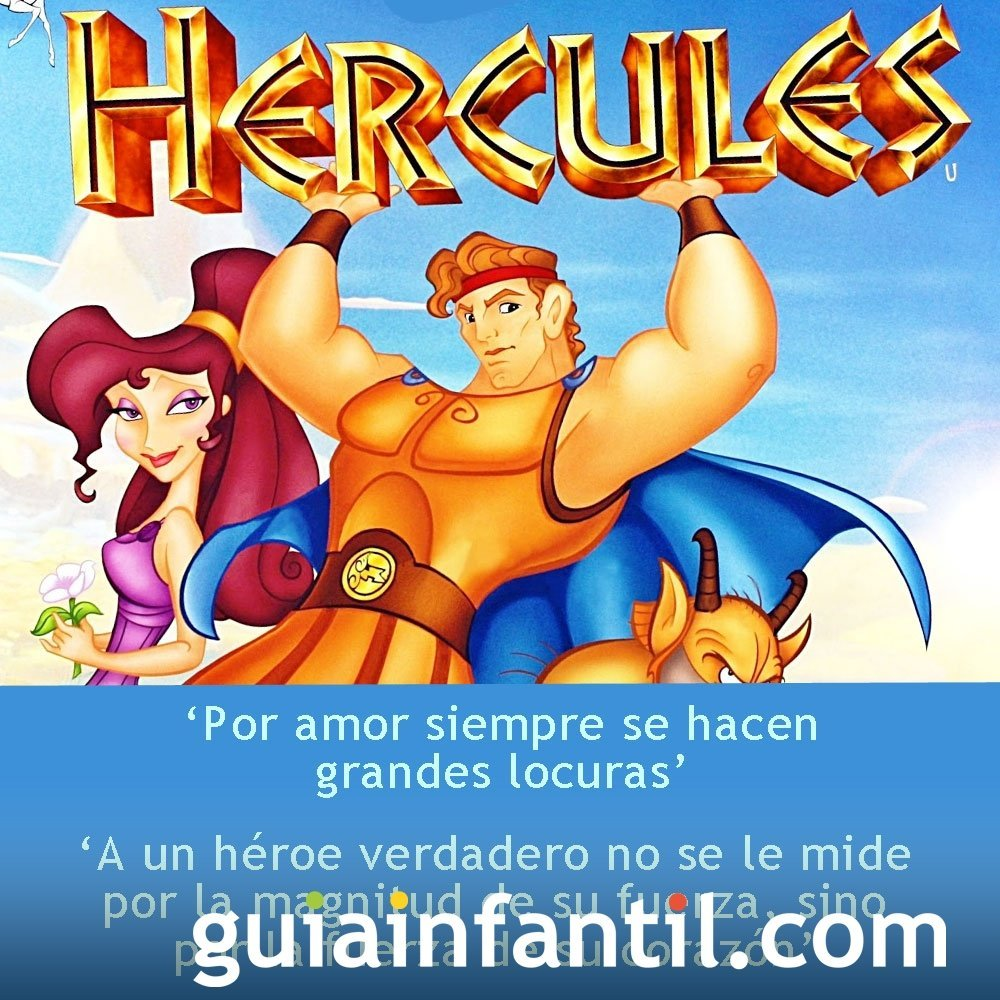 Frases de la película Hércules
