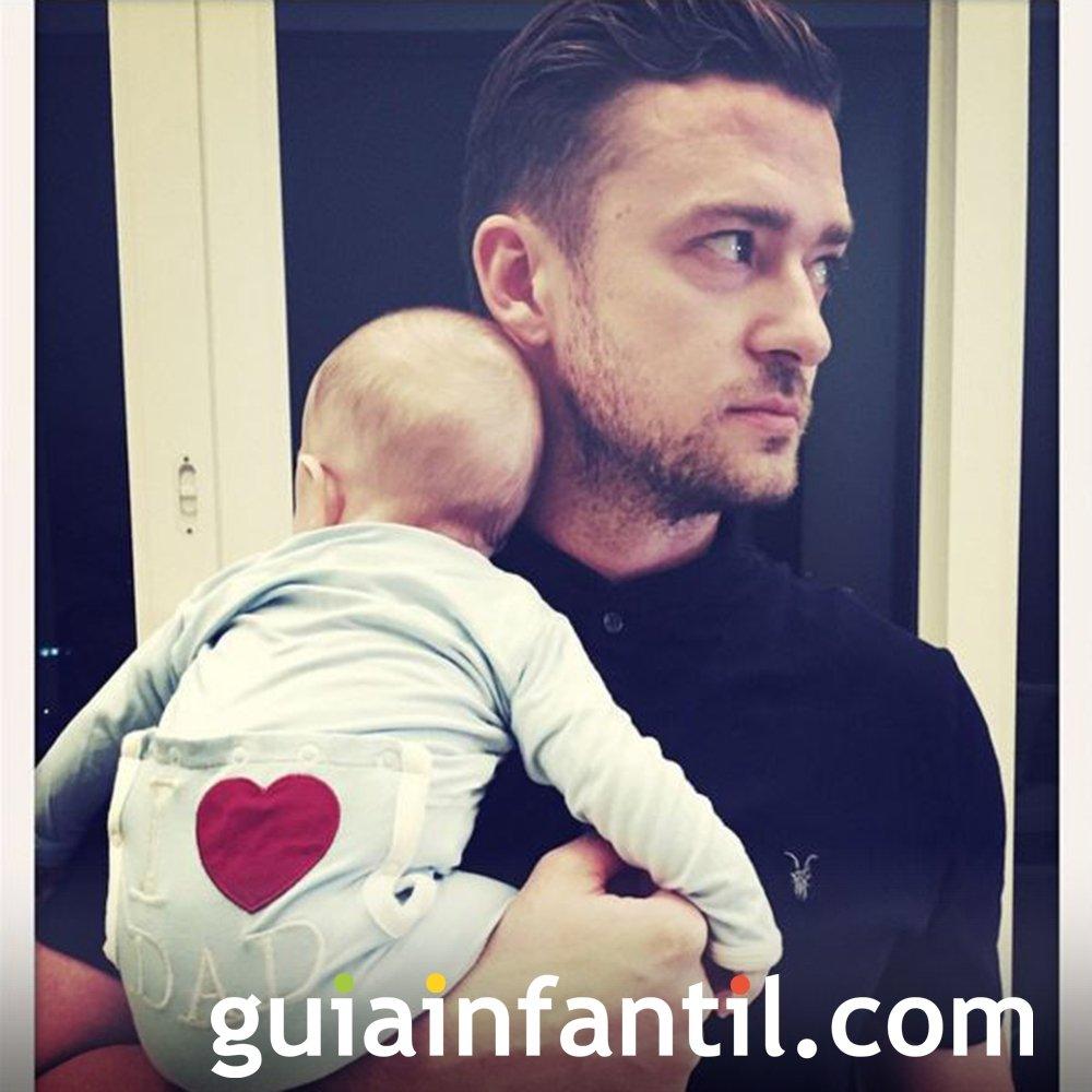 El nombre del hijo de Justin Timberlake es Silas