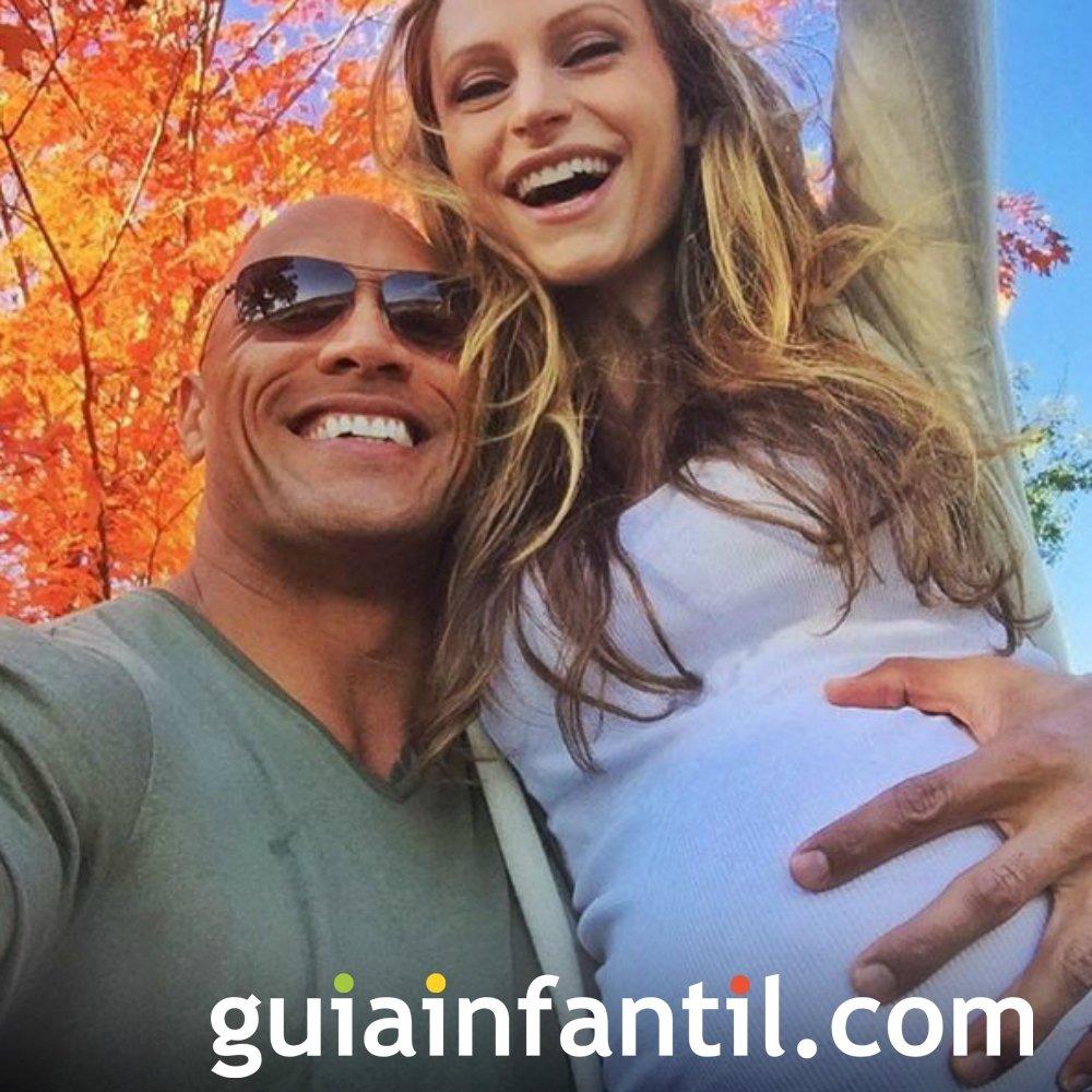 Dwayne Johnson, 'La Roca', será padre por segunda vez