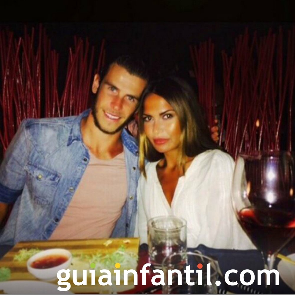 Gareth Bale y su novia serán padres por segunda vez.