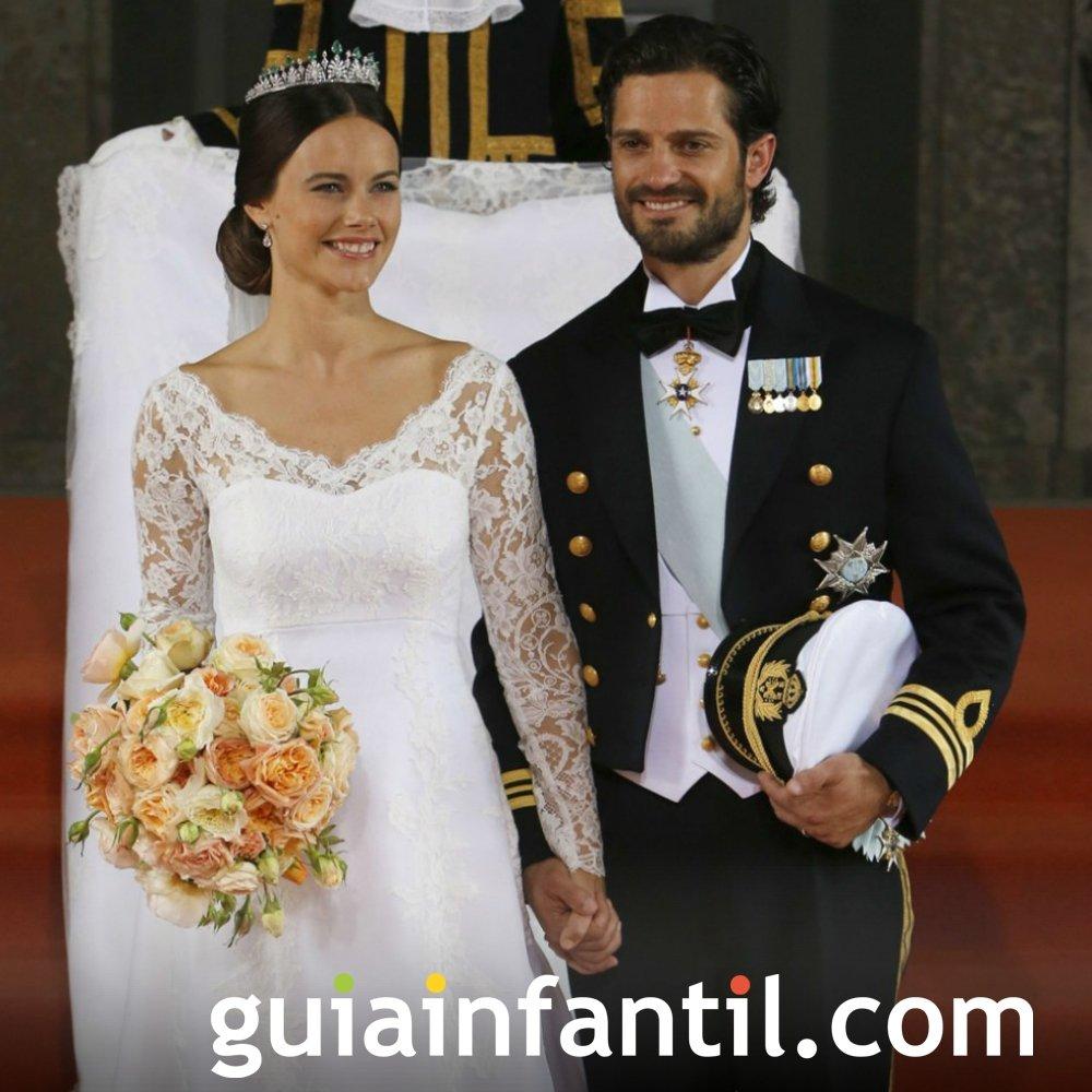 Sofía, princesa de Suecia, será madre primeriza