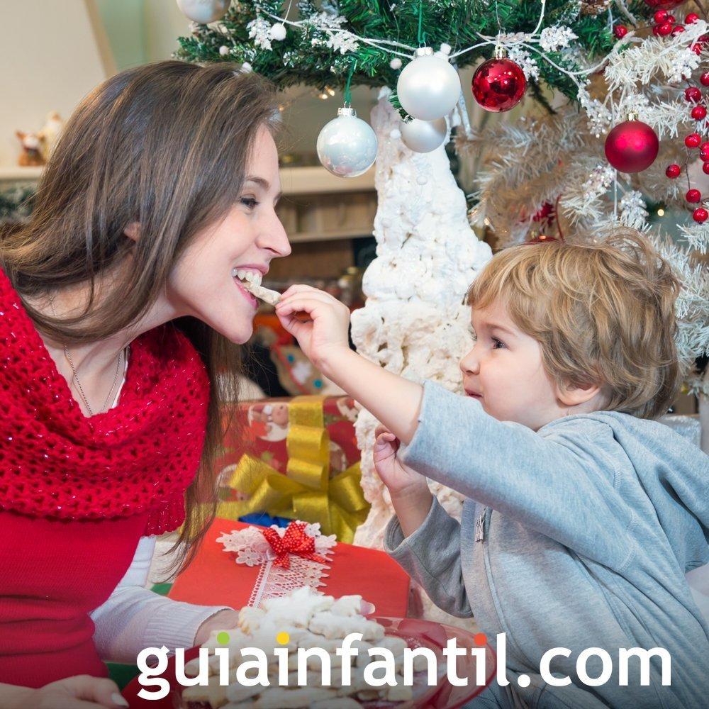 2. Compartir los juguetes, la comida, el material escolar...