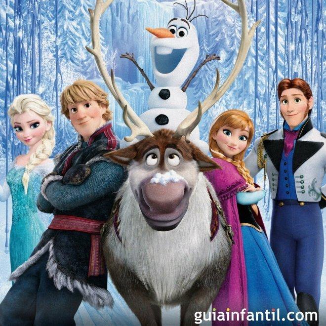 Suéltalo. Letra de la canción de Frozen