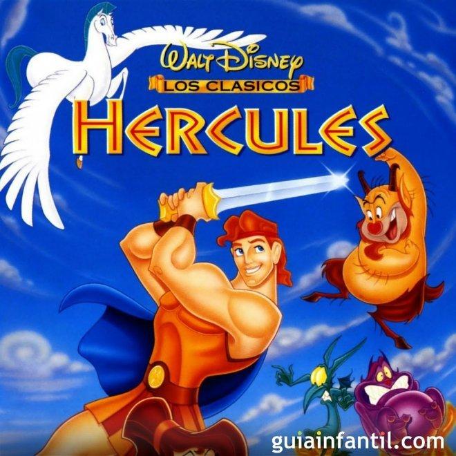 Letra de la canción de Hércules. De cero a héroe