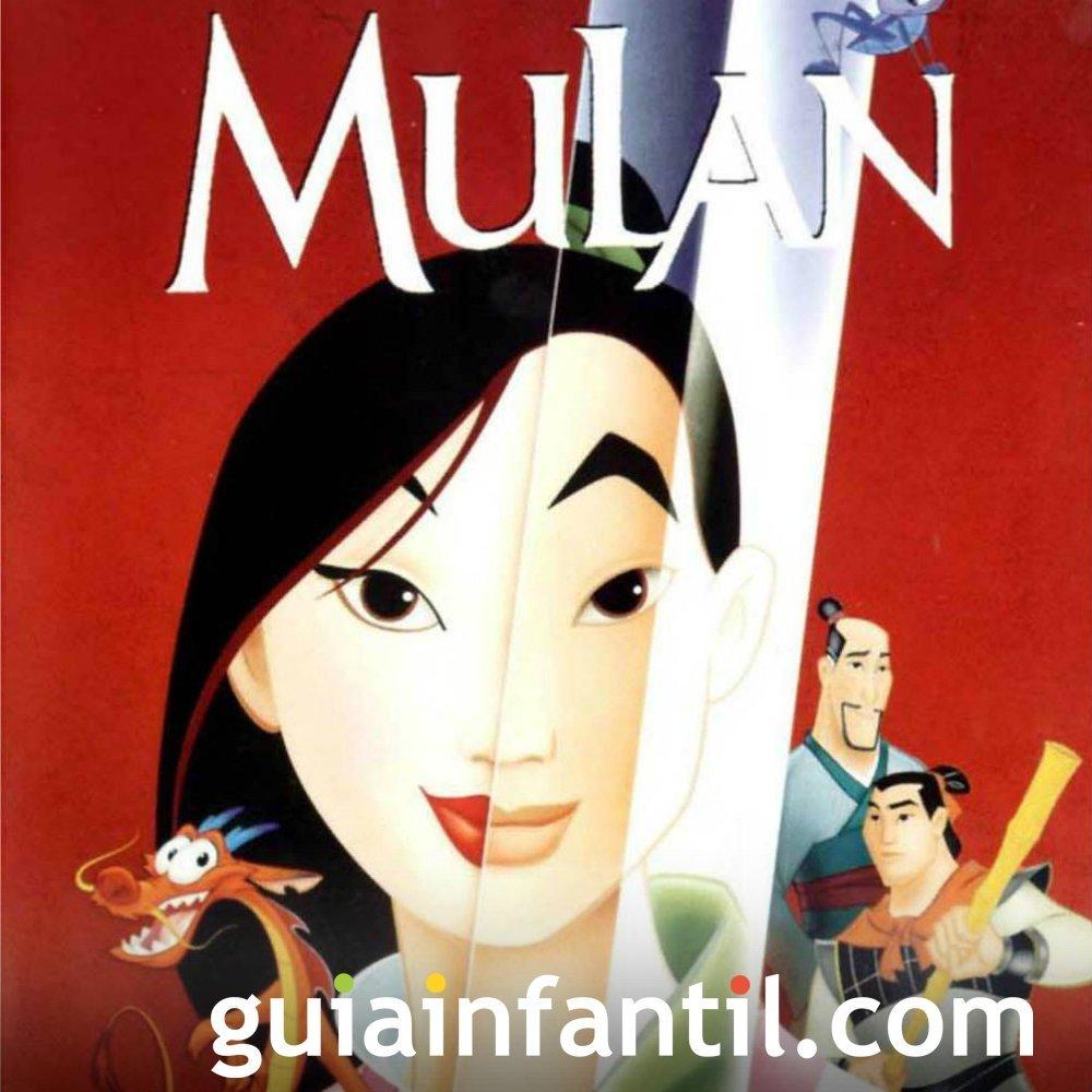 Letra de la canción de Mulán. Canciones infantiles con mensaje