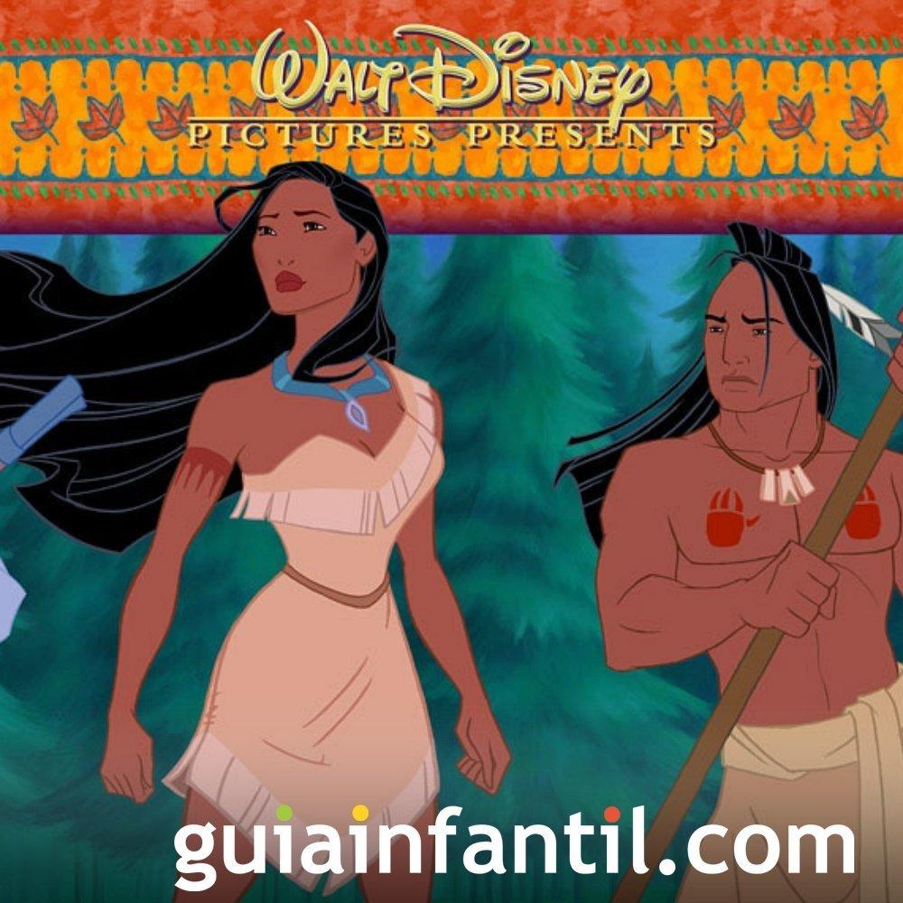 Canciones infantiles. 'Colores en el viento' de Pocahontas