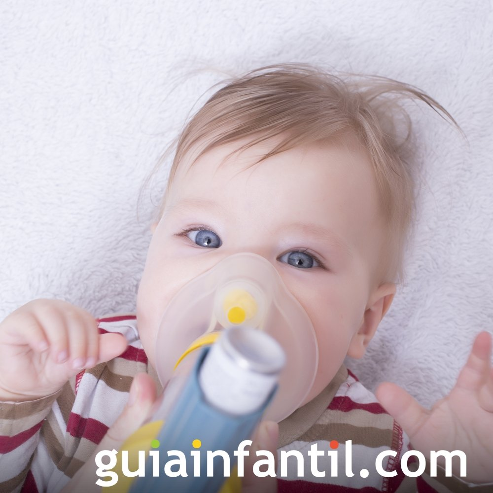 Bronquitis y bronquiolitis. Enfermedades comunes infantiles
