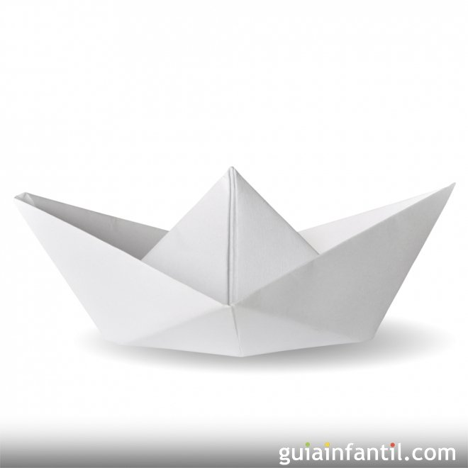 Hacer un barco de papel origami para ni os for Papel decomural para ninos