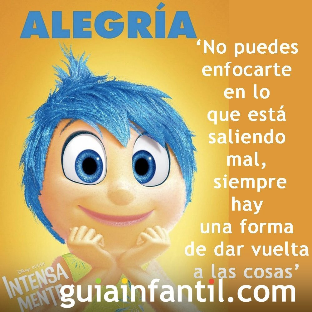 Frases de Inside Out o Intensamente y Del Revés