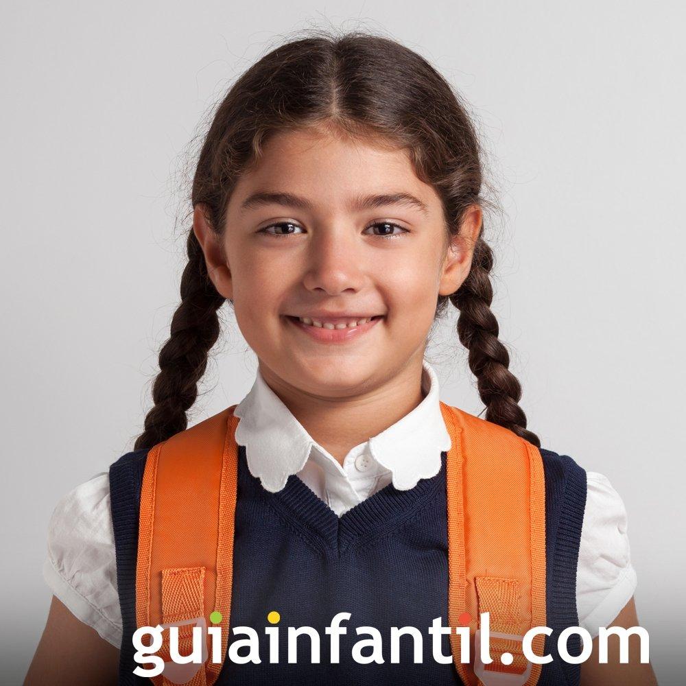 Peinado para niña fácil. Trenzas dobles bajas