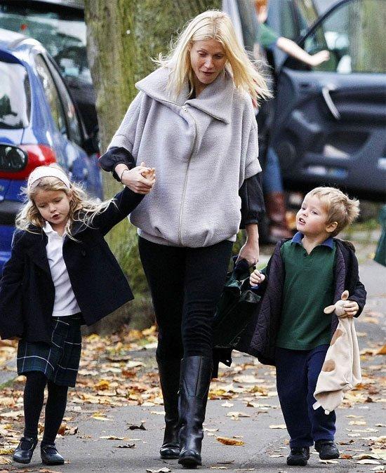Apple y Moses son los nombres de las hijos de Gwyneth Paltrow
