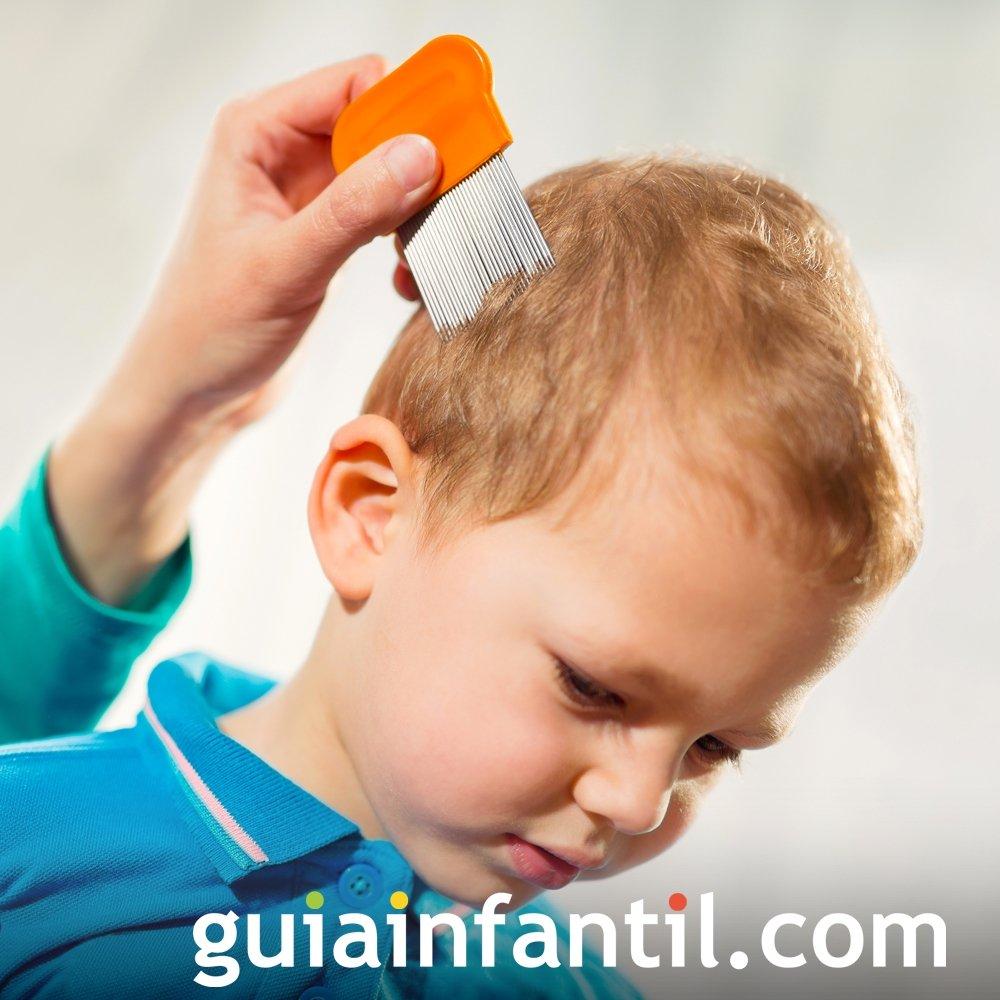 Cómo eliminar los piojos de los niños