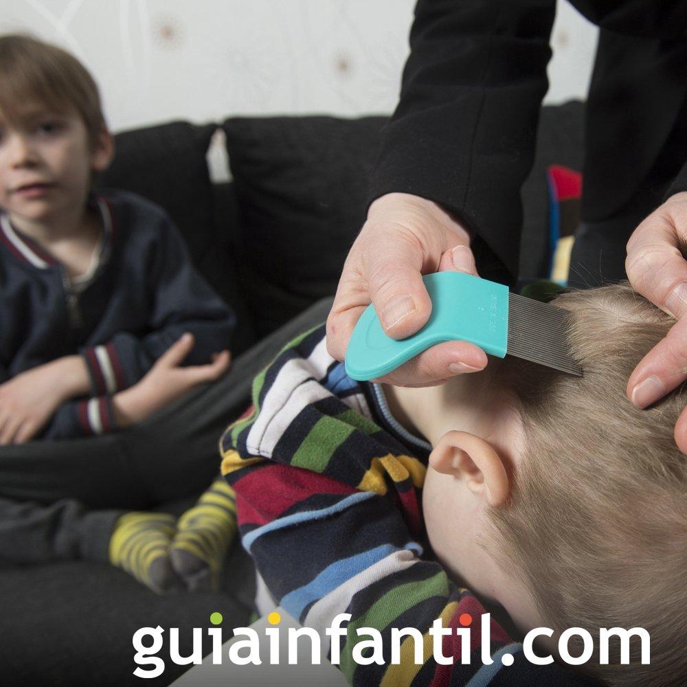 Los niños con piojos no deben ser aislados