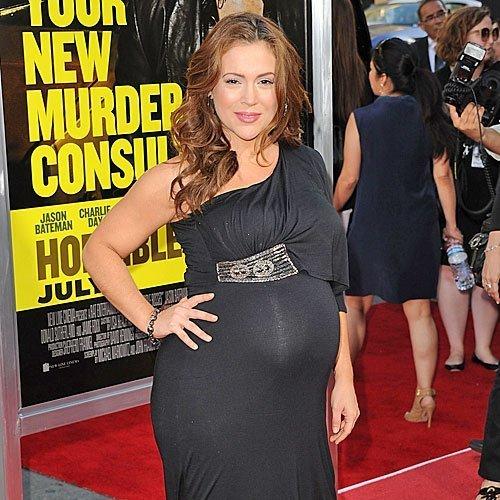 Alyssa Milano embarazada