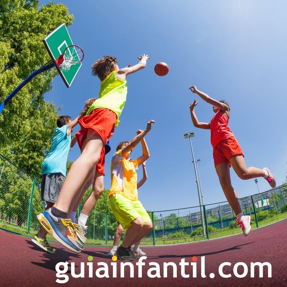 Deportes en equipo. Actividades para estimular a los niños
