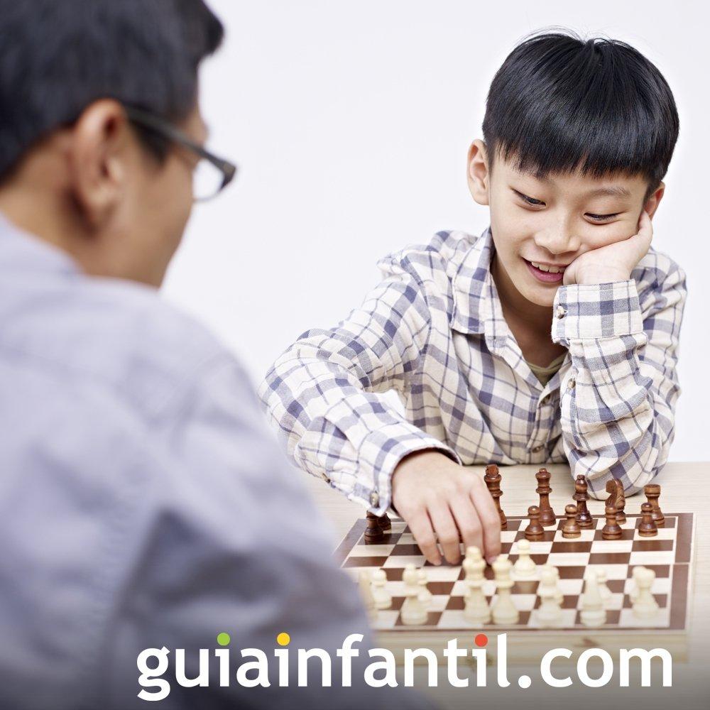El ajedrez. Juego para estimular las habilidades del niño