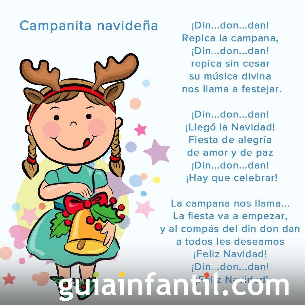 Campanita navideña. Poesía navideña