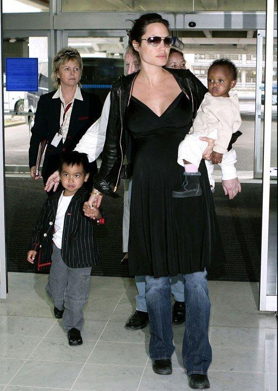 Los nombres de los hijos de Angelina Jolie y Brad Pitt