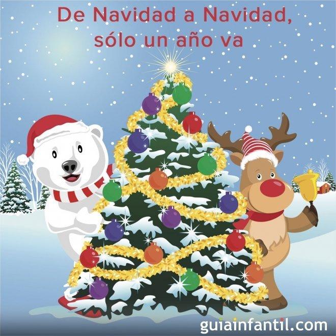 De Navidad a Navidad. Dicho navideño