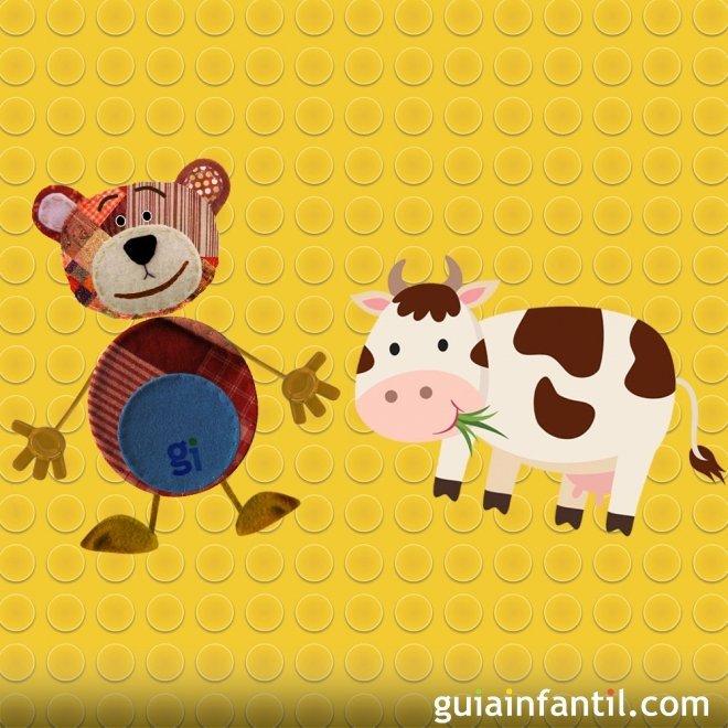 Canciones populares para niños. La vaca lechera.