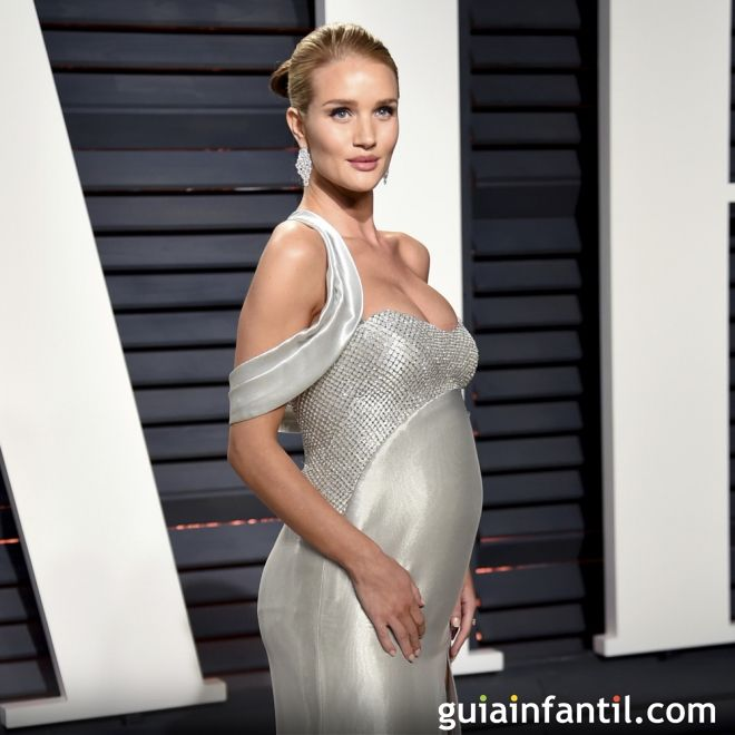 Rosie Huntington nombró a su bebé Jack Oscar