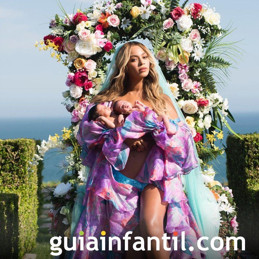 Rumi y Sir Carter son los hijos de Beyoncé