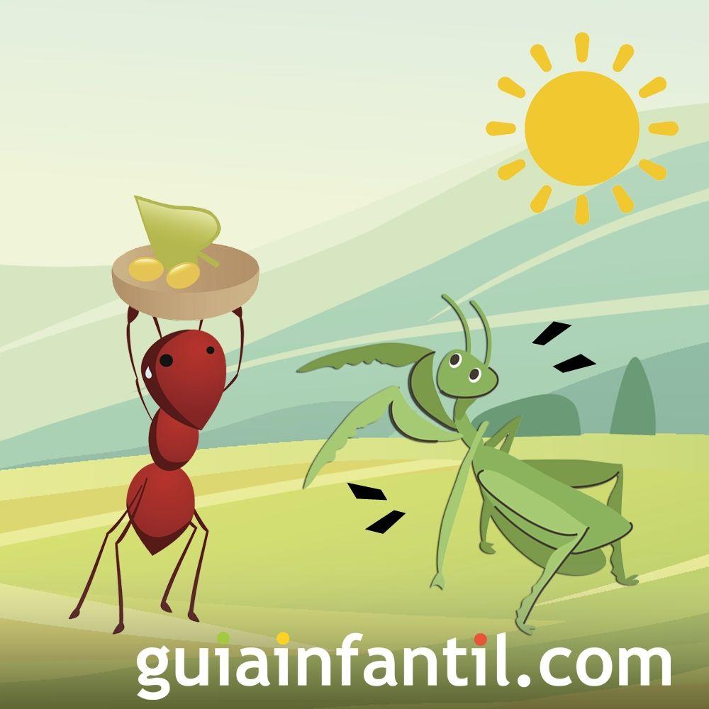 La cigarra y la hormiga. Capítulo 2