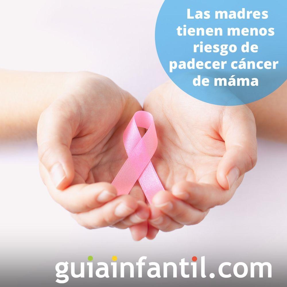 6. Las madres tienen menos riesgo de padecer cáncer de mama