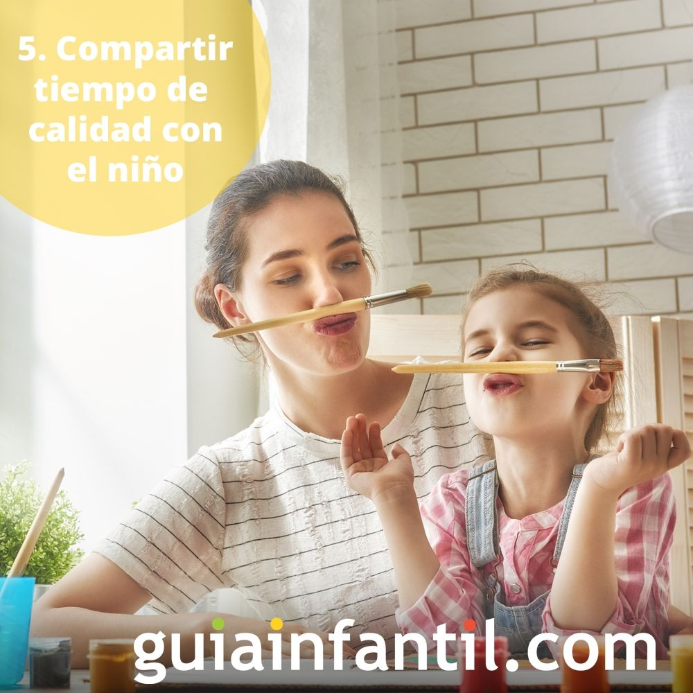 5. Compartir tiempo de calidad con el niño