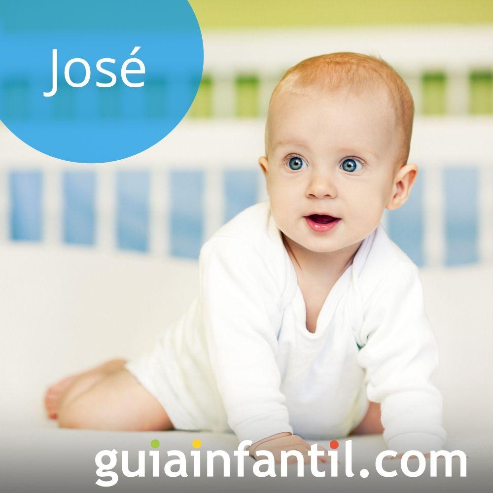 Nombres de niño bonitos para el 2018. José