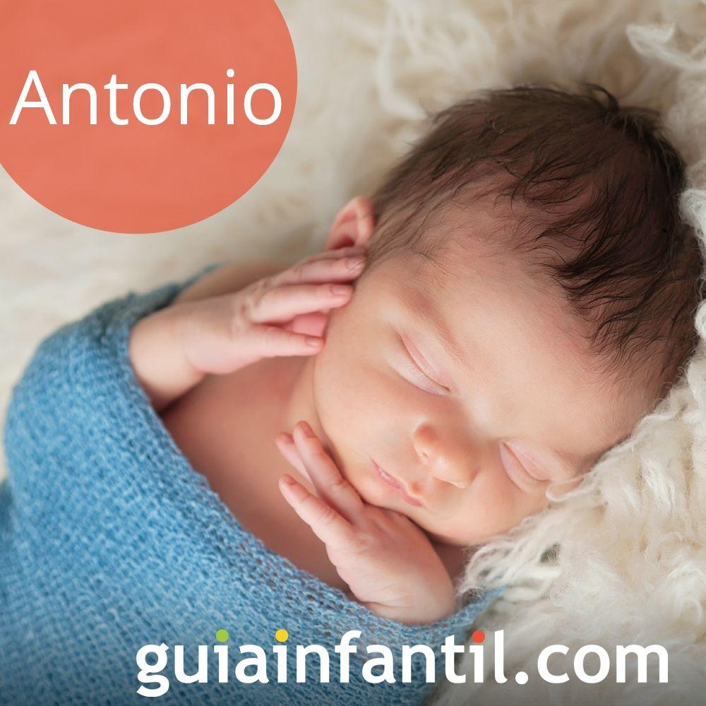 Antonio, un nombre de niño muy bonito para 2018