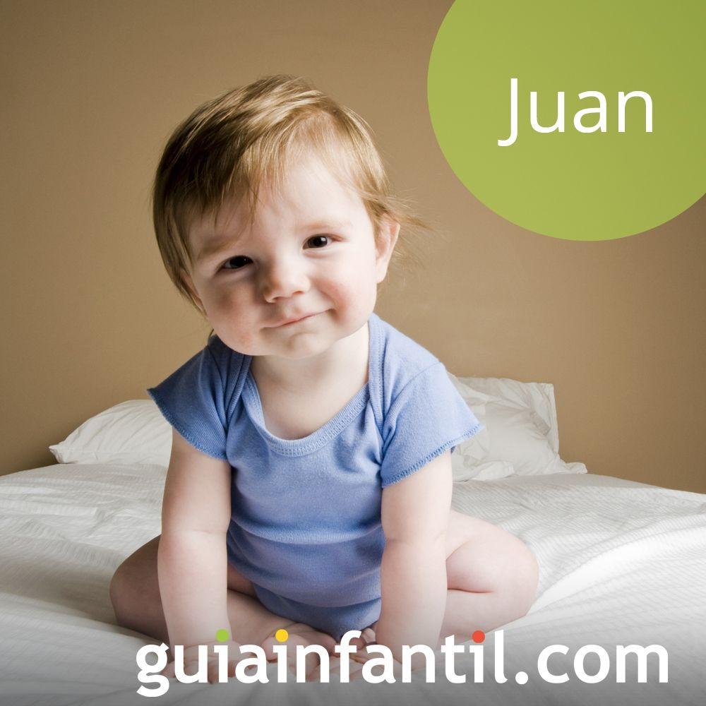 Ideas de nombres de niño bonitos para 2018: Juan