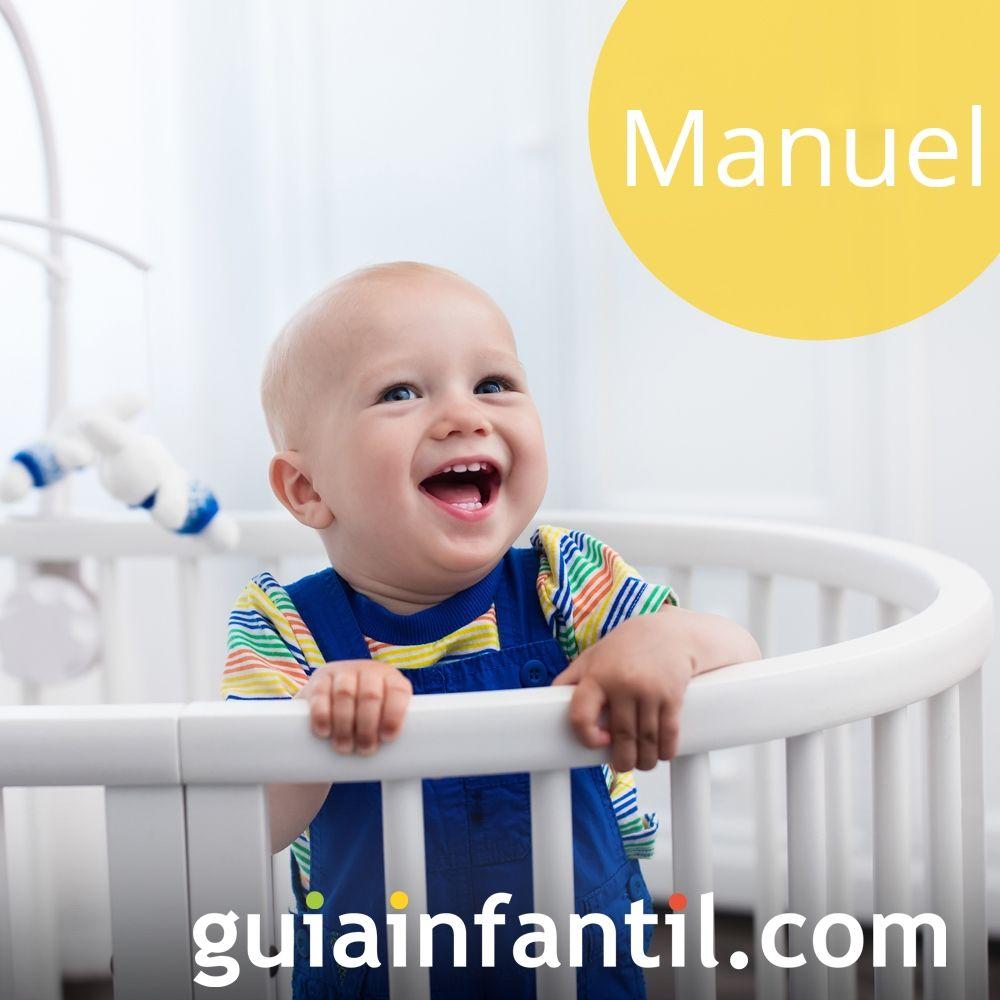Propuestas de nombres de niño bonitos para 2018: Manuel