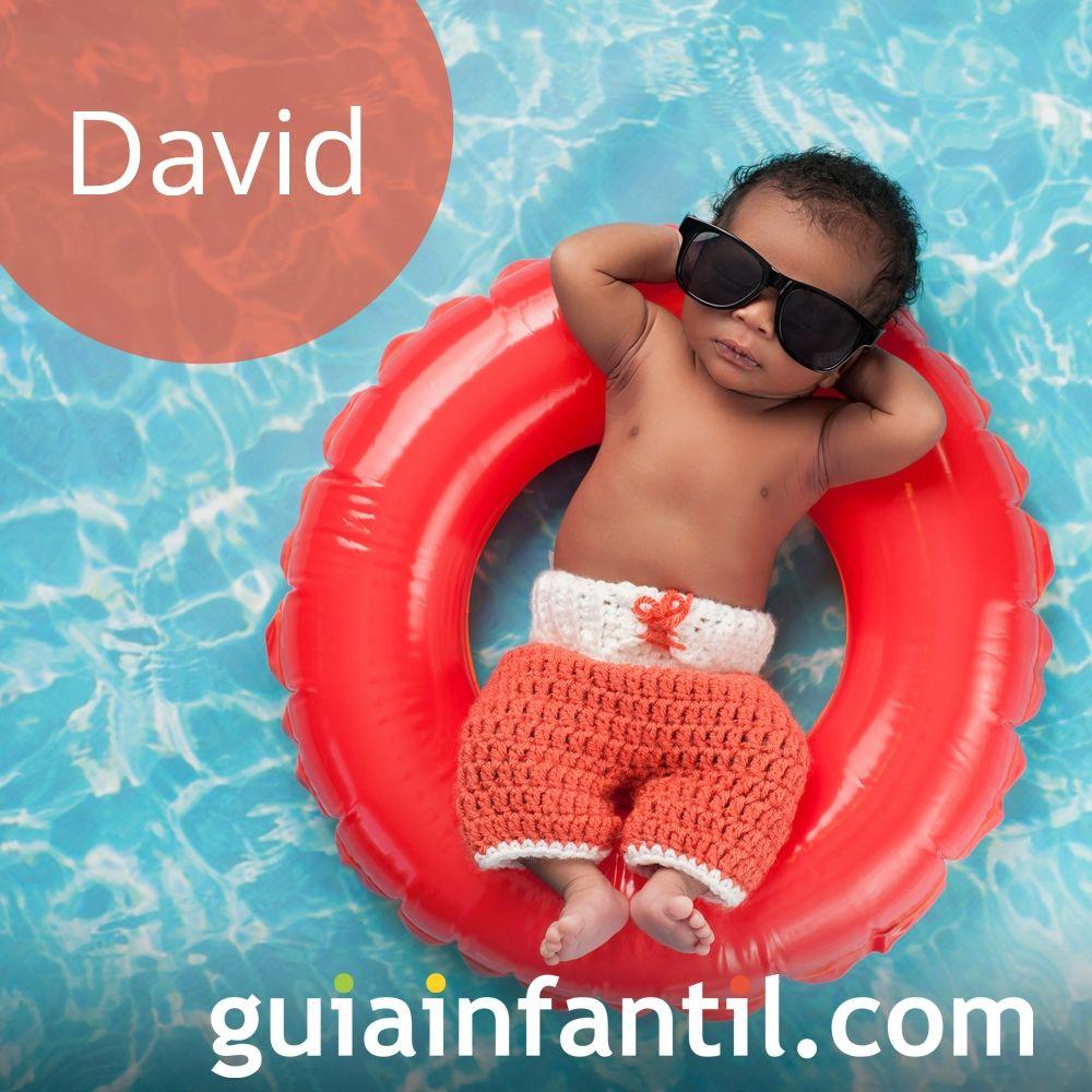 Nombres de niño bonitos para el 2018. David