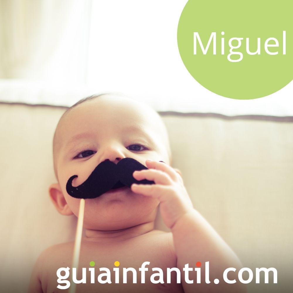 Miguel, un nombre para niño de tendencia para 2918