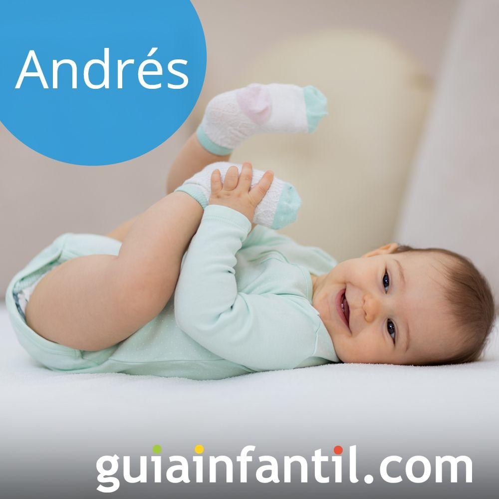 Ideas de nombres de niño populares para el 2018: Andrés