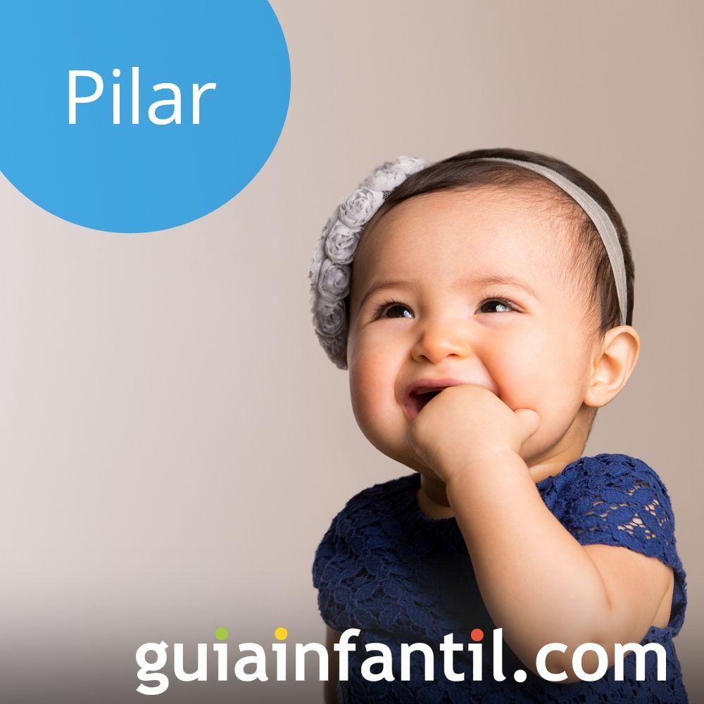 Nombres de niña populares para 2018: Pilar