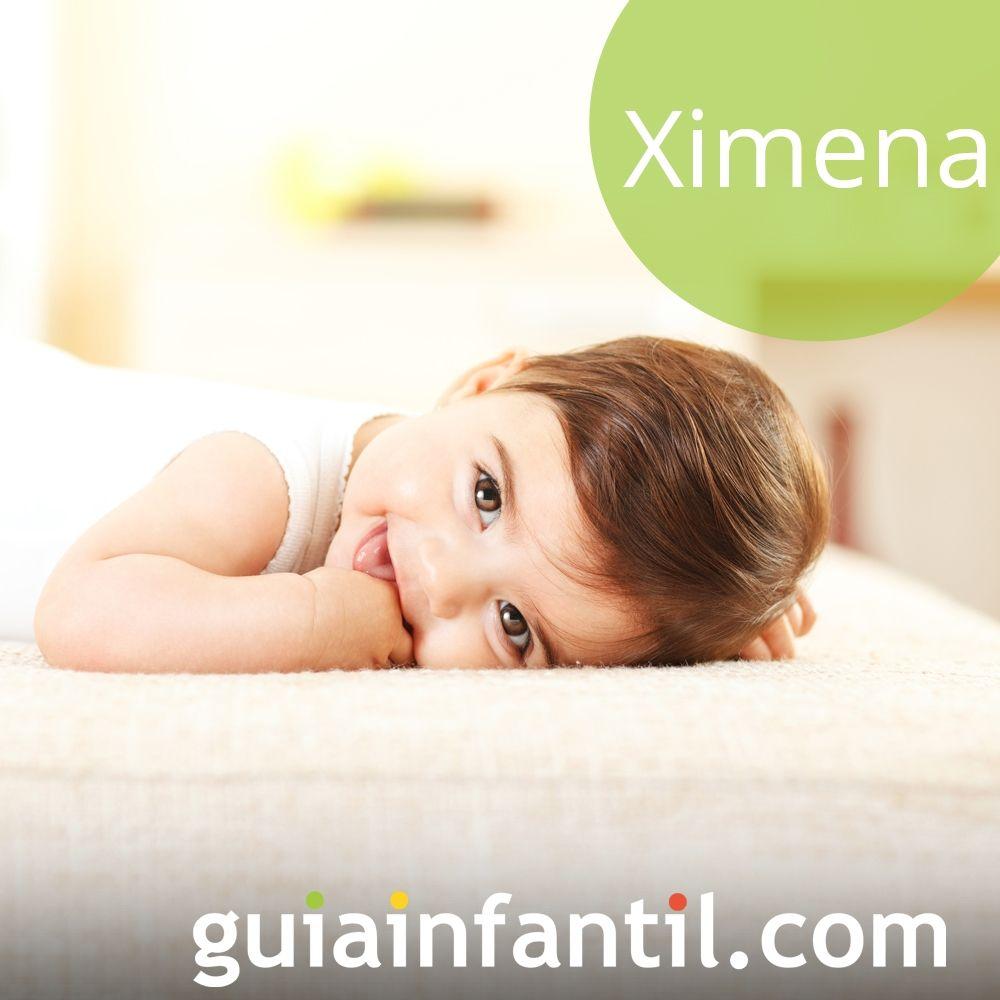 Nombres de niña bonitos para el 2018: Ximena