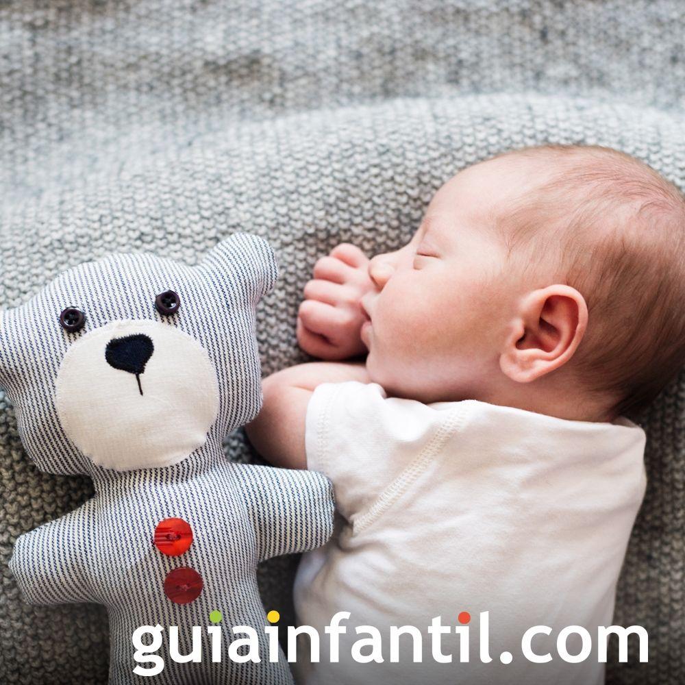 Un bebé soñando