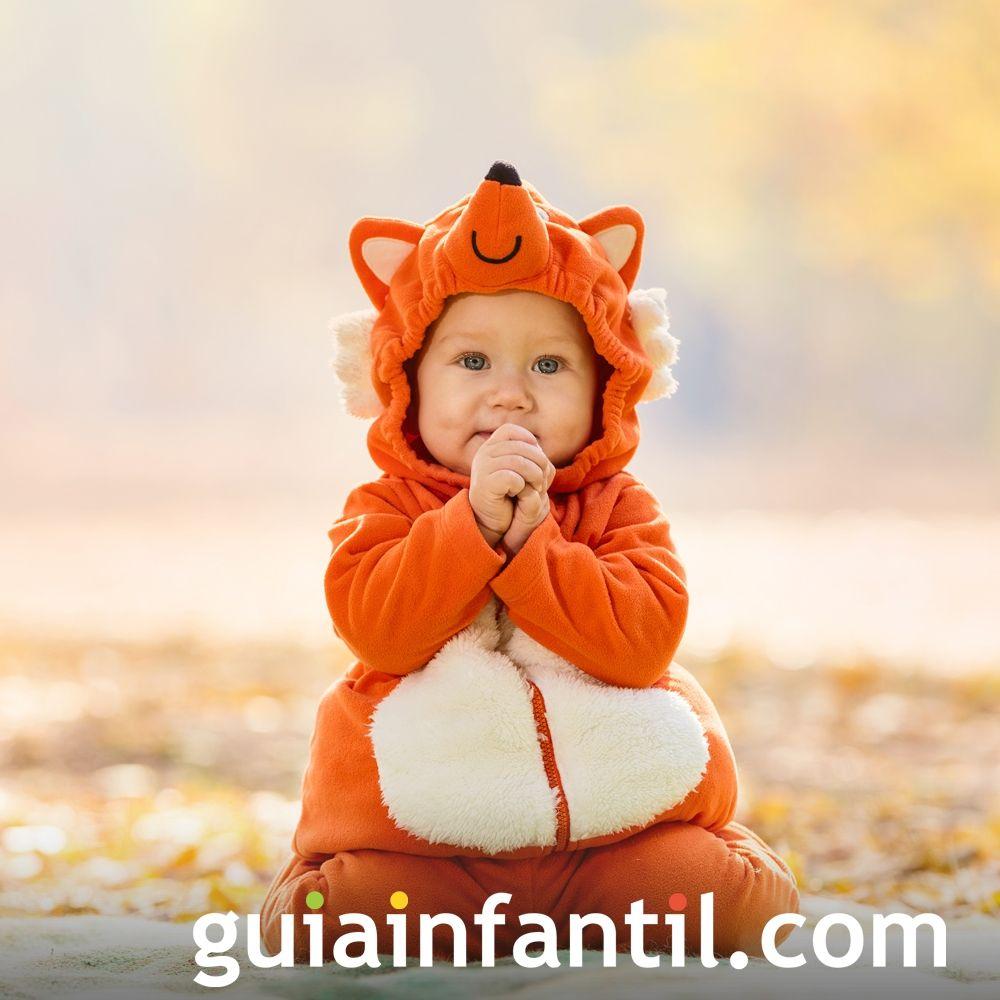 Bebé disfrazado de zorrito
