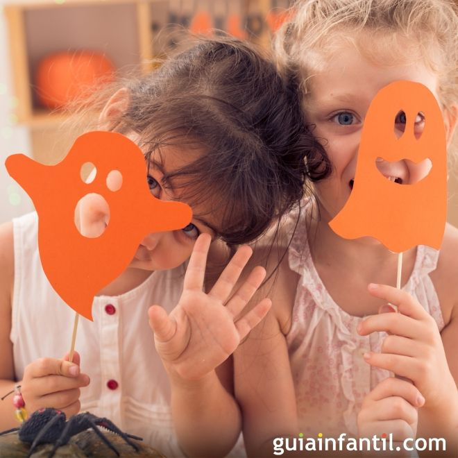 Máscaras de Fantasma para los niños