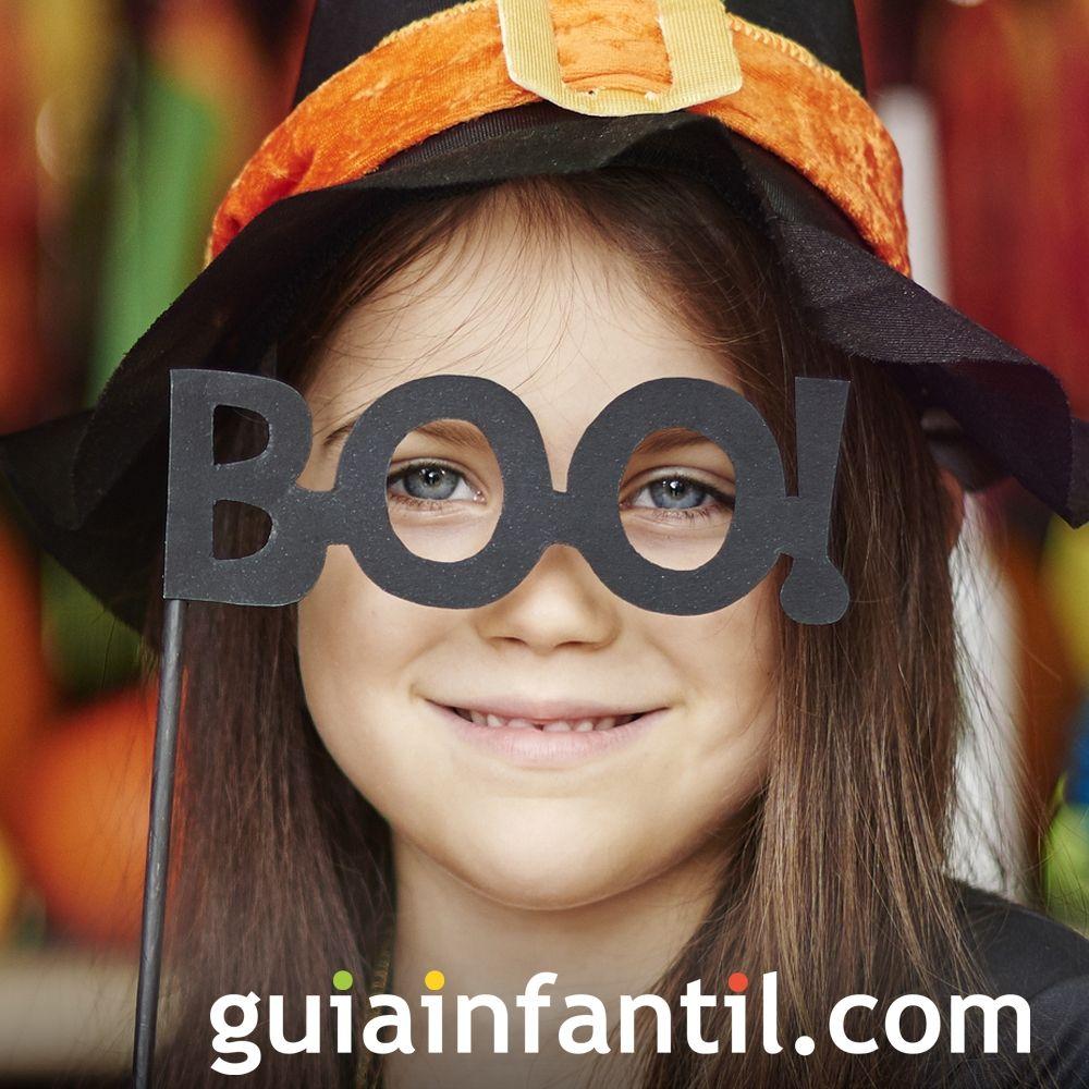 Máscara de susto para niños