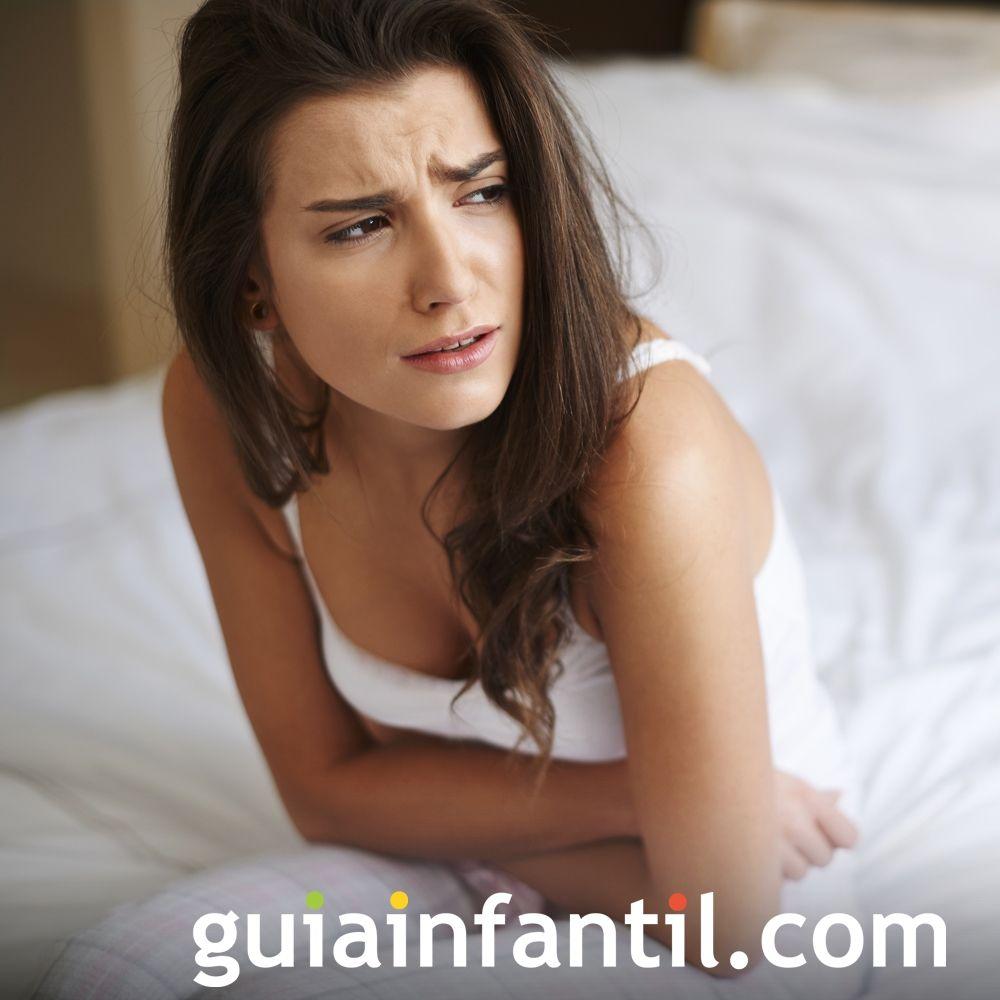 Dolor abdominal. Síntomas del embarazo