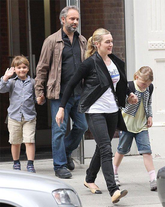 Los nombre de los hijos de la famosa actriz Kate Winslet
