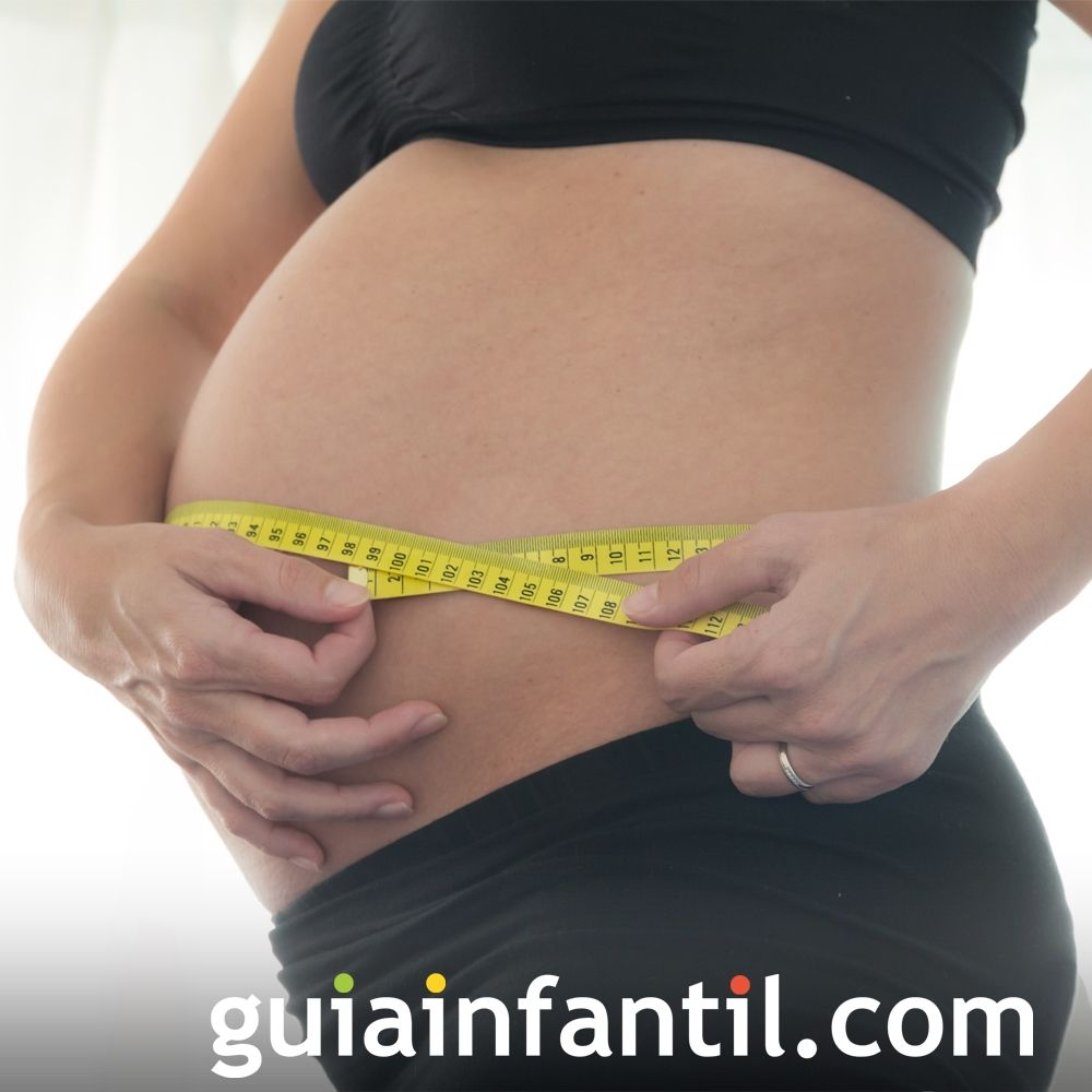 Controla tu peso. Hábitos saludables en embarazadas