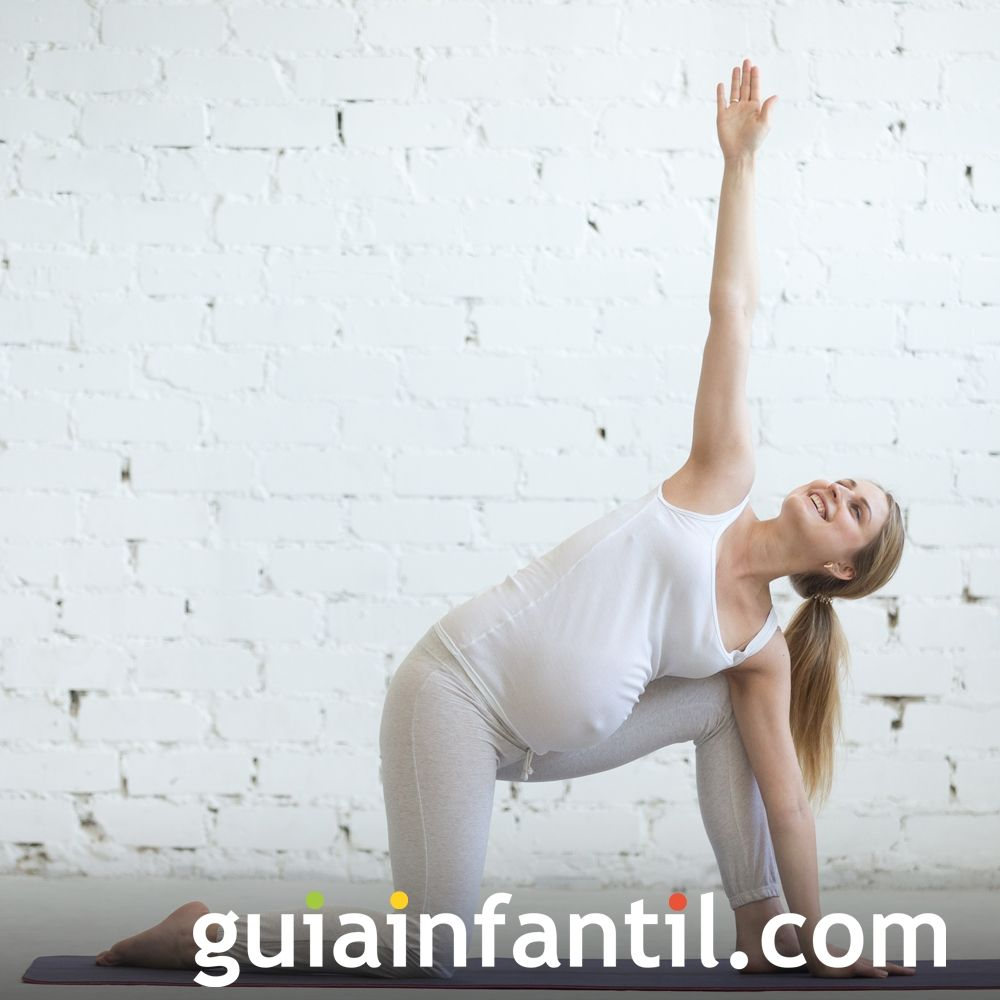Haz ejercicio. Hábitos saludables en embarazadas