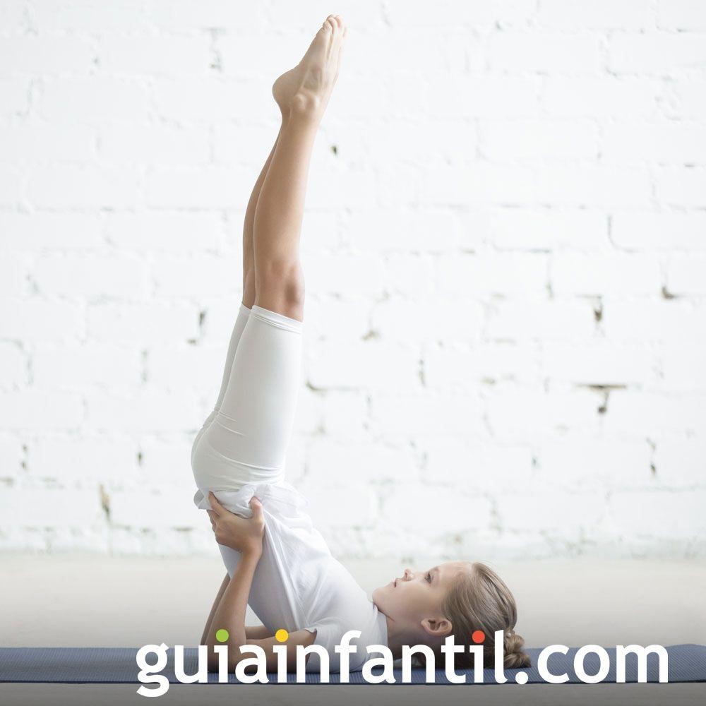 Postura De La Vela Posturas De Yoga Para Niños