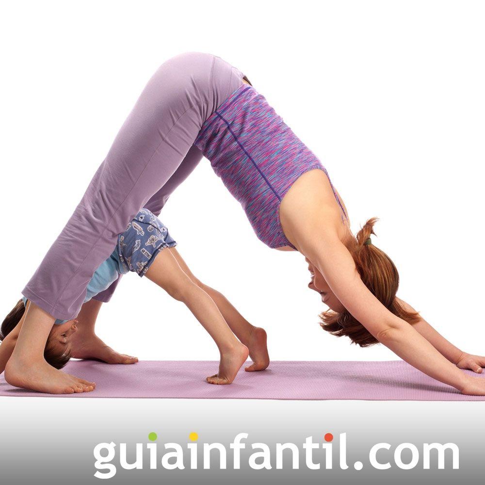 Postura Del Perro Posturas De Yoga Para Niños